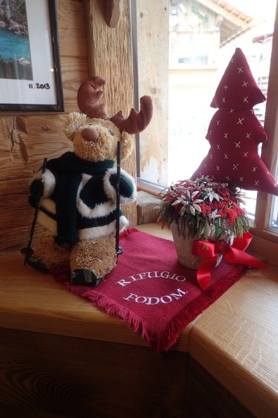 Cute Christmas Decoration at Rifugio Fodom